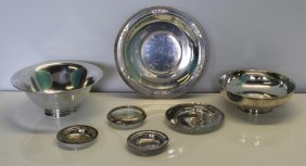 Sterling. Assorted Hollow Ware Grouping