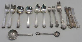 Sterling. Miscellaneous Silver Flatware.