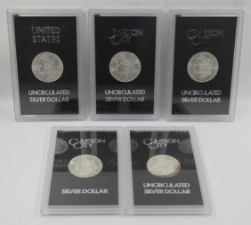 Gsa Morgan Dollar Carson City Collection