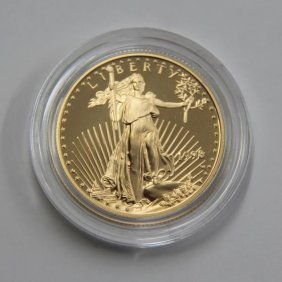 American Eagle 1/2 Oz. Proof Gold 1998