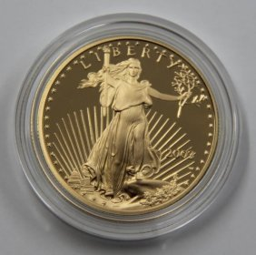 American Eagle 2003 One Oz. Gold Proof Coin