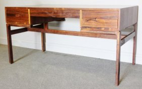 Midcentury Danish Rosewood Desk.