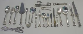 Sterling. Wallace 'romance Of The Sea' Flatware