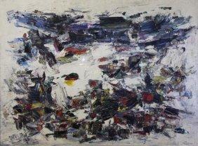 "Carton, Norman. Oil On Canvas. ""sierra Heights"""