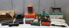 Lot Of Vintage Lionel Trains And Accessories.