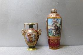Royal Vienna Porcelain Grouping.