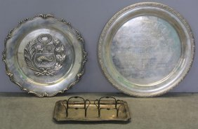 Sterling And .800. Assorted Silver Grouping.