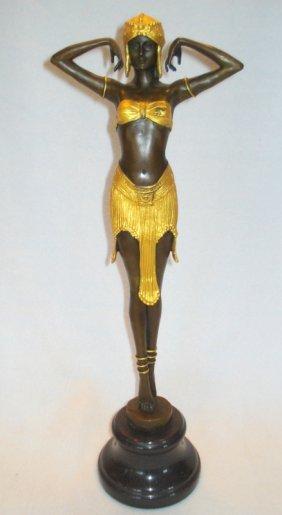 Contemporary Art Nouveau Bronze Of The Classic Demetre