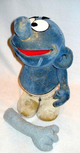 "A Kermit Love ""smurfs"" Puppet."