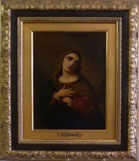 Giovanni Carnovali Oil Painting On Canvas Madonna