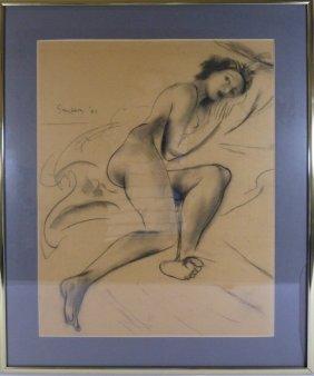 Maxwell Stewart Simpson Pencil Sketch