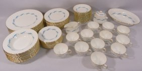 "74pc Minton ""downing"" Bone China Set"