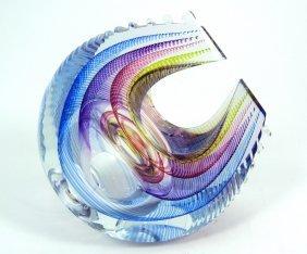 Kit Karbler & Michael David Art Glass Sculpture