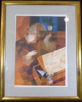 Sunol Alvar Lithograph Signed & Numbered 47/285