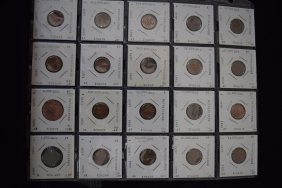 20 Netherland Collectible Coins