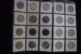 20 Belgium Collectible Coins