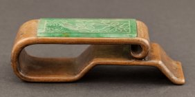Chinese Antique Box Wood Brush Holder