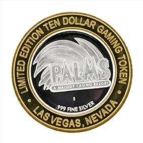 .999 Silver Palms A Maloof Casino Resort $10 Casino