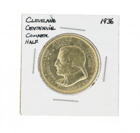 1936 Cleveland Centennial Commemorative Half Dollar