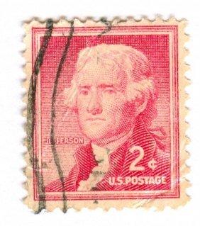 United States Thomas Jefferson Postage Stamp