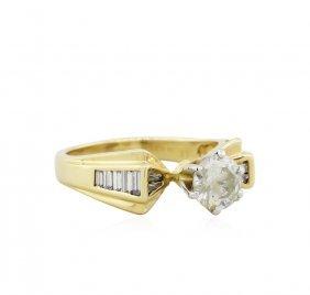 14kt Yellow Gold 1.71ctw Round Brilliant Cut Diamond