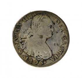 1806 8 Reales Mexico Spanish Colonial Silver Coin