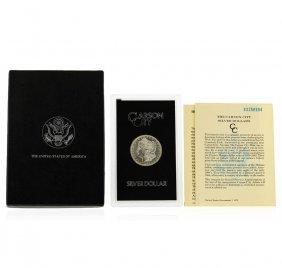 1883-cc Gsa Morgan Silver Dollar With Box & Coa