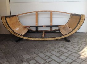 French Art Deco Sofa In The Manner Of Marcel Coard