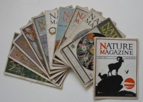 Nature Magazine- 11 Vols