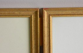 2 Matching Gilded Gallery Frames