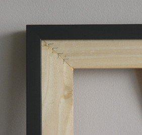 2 Black Wood Gallery Frames