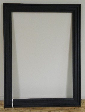 Dutch Style Black Painted Mould Made Frame