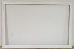 White Painted Gallery Frame