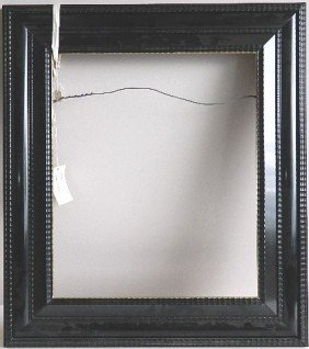 Dutch Style Lacquered Black Frame