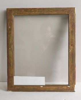 Gilded Mould Made Frame, Acanthus And Tulip