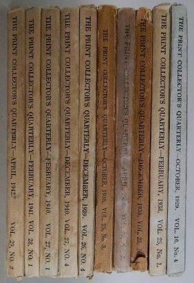 10 Volumes Of Print Quarterly