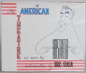 2 Books On Al Hirschfeld