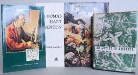 3 Books On/by Thomas Hart Benton