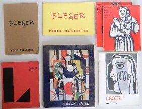 7 F. Leger Exhibition Catalogs
