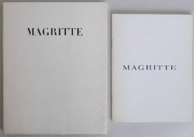 2 Rene Magritte Exhibition Catalogs