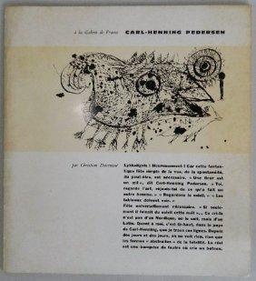 Carl Henning Pedersen Exhibition Catalog