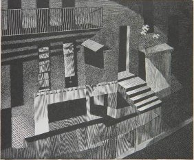 Bernard Brussel-Smith Wood Engraving