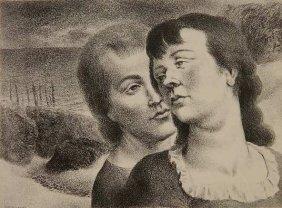 Federico Castellon Lithograph