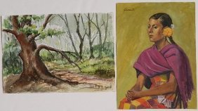 Michael Dadante 2 Watercolors