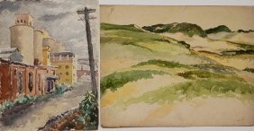 A. P. English 2 Watercolors