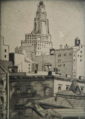 Emil Ganso 2 Etching And Aquatint