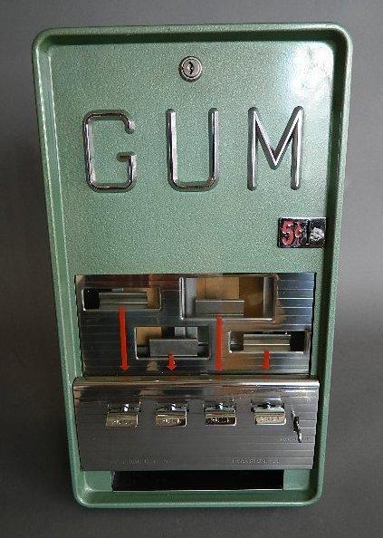 gum vending machine