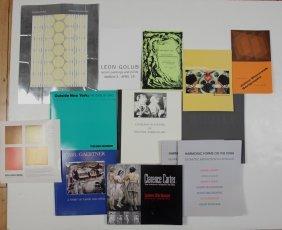 Box Of Exhibition Catalogs Etc Of Ne Ohio Artists