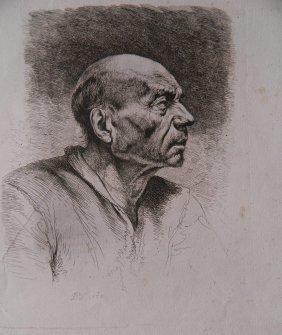 Jean Jacques De Boissieu Etching