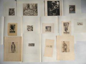 Frank Brangwyn 13 Prints